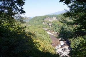 吹割の滝・眺め